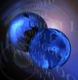 Informazioni in tutto il mondo Immagine Stock Libera da Diritti