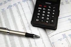 Informe anual 2 do investimento Fotografia de Stock Royalty Free