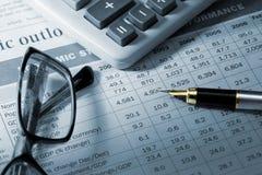 Informe anual Imagens de Stock