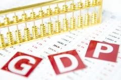 Informe estadístico Foto de archivo libre de regalías