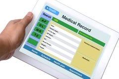 Informe médico paciente. Fotografía de archivo libre de regalías