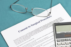 Informed Consent Royalty Free Stock Image