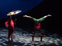 Informeer de comfort-acrobatische Nacht van de showBaixidroom royalty-vrije stock foto's