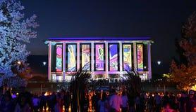 Informeer festival in Canberra royalty-vrije stock fotografie