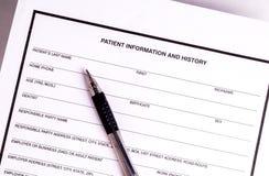 Informes médicos Imágenes de archivo libres de regalías