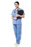 Informes médicos para los pacientes fotografía de archivo