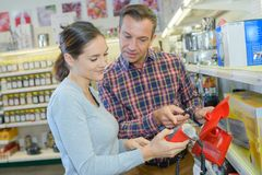 Informing about the item. Work stock photos