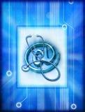 Informática e medicina  Fotos de Stock