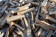 Inforni il legno Immagine Stock Libera da Diritti