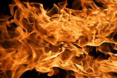 Inforni le fiamme Fotografie Stock
