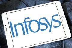 Infosys a limité le logo Image libre de droits