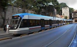 Infra-estrutura de Istambul do carro da rua do metro Fotografia de Stock
