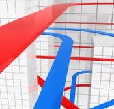 Infra-estrutura de transporte Imagens de Stock