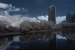 Infra Red City Stock Photo
