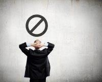 Infraction de loi Photographie stock libre de droits