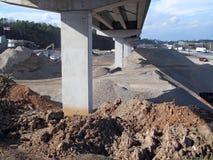 Infraestrutura da estrada Fotografia de Stock