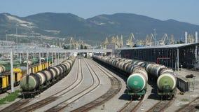 A infraestrutura de transporte Imagem de Stock