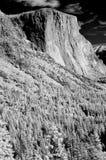 Infraröd Yosemite dal El Capitan Royaltyfria Bilder