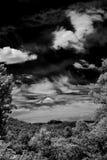 Infraröda Sedona Arizona Fotografering för Bildbyråer