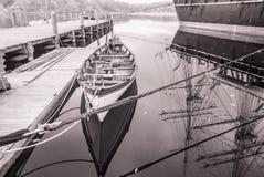 Infrared łódź Obraz Royalty Free