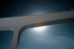 Infrared bridge Royalty Free Stock Photos