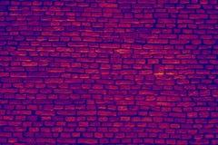 Infrared briks ścienny tło Zdjęcia Stock