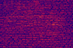 Infrared briks wall background Stock Photos
