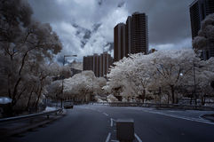 Infrared City Royalty Free Stock Images