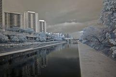 Infrared city Stock Photo