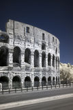 Infrared Colosseo (coliseum) in Rome, Italy Stock Photos