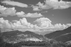 Infrared countryside landscape Royalty Free Stock Photo