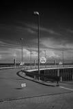 Infrared czujnik fotografii port Borkum Zdjęcia Stock