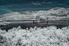 Infrared dam Royalty Free Stock Photography