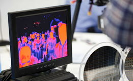Infrared electronic monitoring Stock Photography