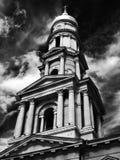 Infrared för Klocka torn royaltyfri bild