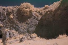 Infrared fotografia otoczenia losu angeles Batida jama 2 Zdjęcie Stock