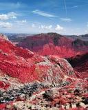InfraRed góry w Jeziornym okręgu Obraz Royalty Free