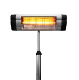 Infrared heater Stock Photo