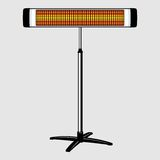 Infrared heater Stock Photography