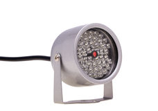 Infrared illuminators for security systems and video surveillanc Stock Photos