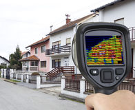 infrared kamera Zdjęcia Stock