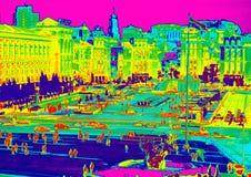 Infrared Kijów Zdjęcia Stock