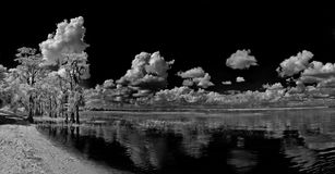 Infrared Lake Reflections Royalty Free Stock Images