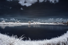Infrared Landscape Stock Images