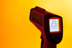Infrared laser thermometer Royalty Free Stock Images