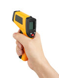 Infrared laser thermometer Stock Image