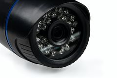 Infrared motion sensor nightvision security camera Stock Photography