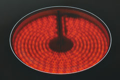 Infrared oven plate Royalty Free Stock Photo