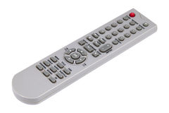 Infrared remote control isolated over white Stock Image