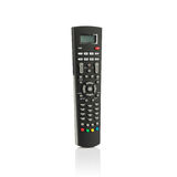 Infrared remote control for TV. Satellite receiver isolated on white background Royalty Free Stock Photography